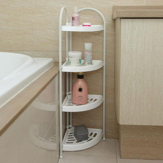 Zimtown 4 Tier Corner Bath Caddy Rack Holder Shelf Shower