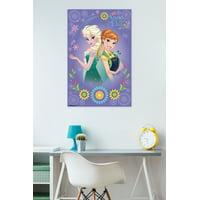 """Trends International Frozen Fever Anna & Elsa Wall Poster 22.375"""" x 34"""""""