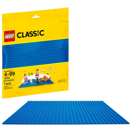 LEGO Classic Blue Baseplate 10714 Building Accessory (1 (Logo Barbecue Accessories)