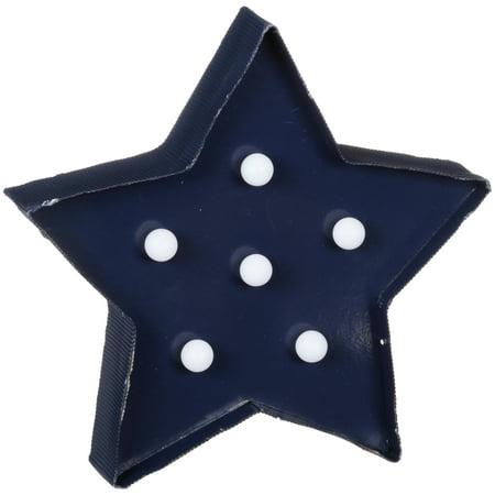 Blue Star Lighted Décor ()