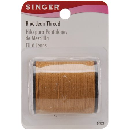 - Singer Blue Jean Thread 100yd-Old Gold