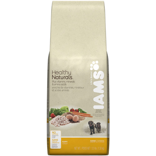 Iams Puppy Healthy Naturals 3.3Lb Bag