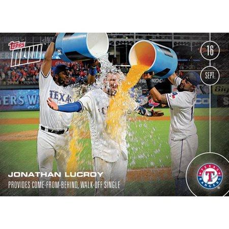 MLB Texas Rangers Jonathan Lucroy #463 Topps NOW Trading Card - image 1 de 1
