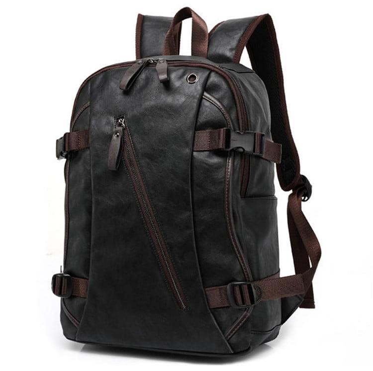 New Men's Vintage Backpack School Bag Travel Laptop Bag Rucksack Travel Daypack by konxa