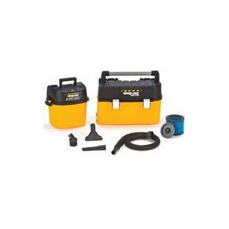 Spv 3880 square10 Vacuum Shopvac Tool Mate Wet/Dry Vac W/Tool Box