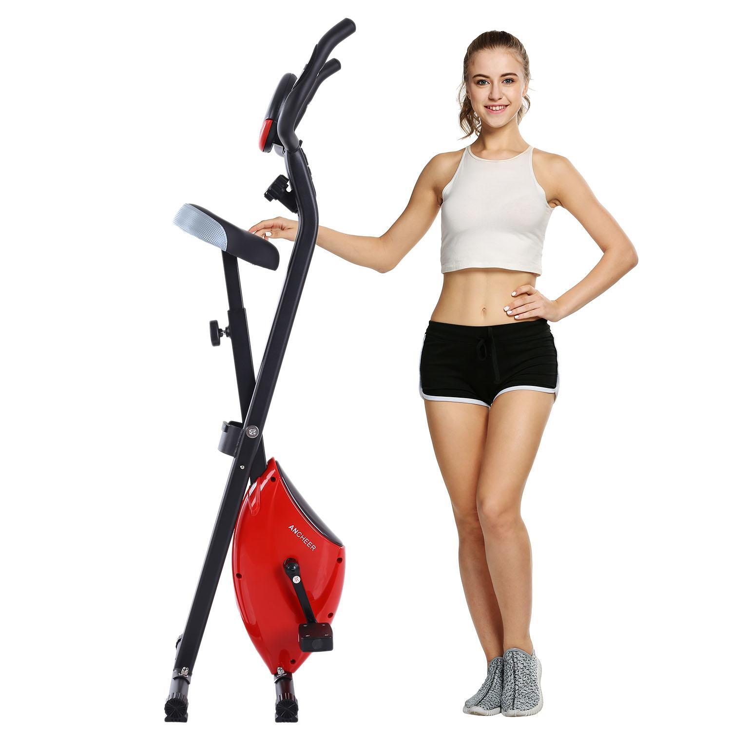 Vertical Climber Folding 2 In 1 Exercise Climbing Machine, Exercise Equipment Climber for Home Gym, Exercise Bike for... by