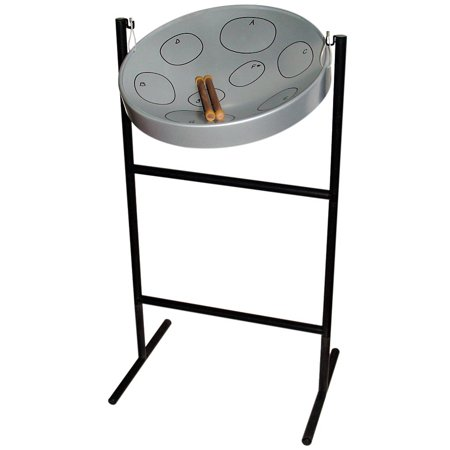 Jumbie Jam Steel Drum Musical Instrument, Steel Finish