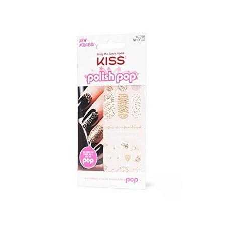 Kiss Polish Pop Nail Art - 62296 Main Street (Kiss Nail Art Stickers Halloween)