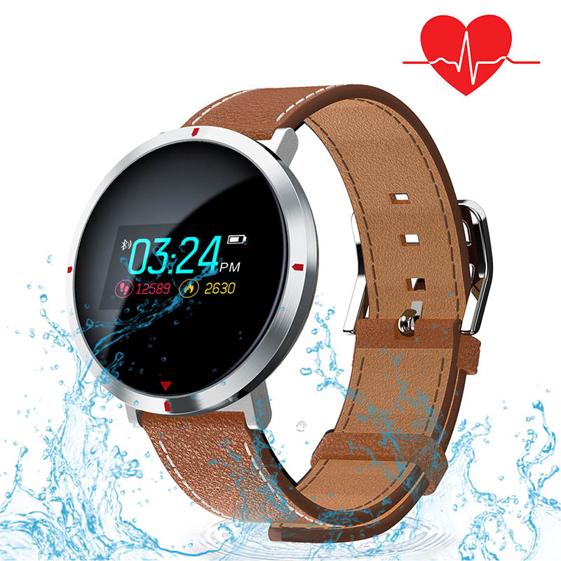 Smart Watch,Mancro Fitness Tracker Waterproof IP67 Smartwatch for Swimming Heart Rate Blood Pressure Oxygen Sleep Monitor Activity Tracker
