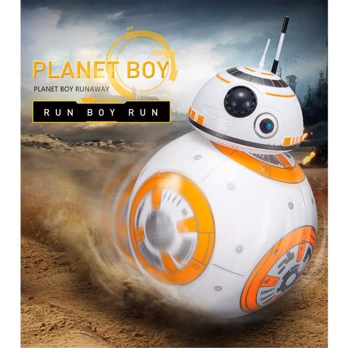 BB-8 Robot Ball Remote Control Planet Boy with Sound, Star Wars Toy,Popular Gift for Kid Children