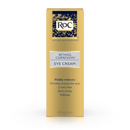 RoC Rétinol Correxion Traitement Crème Contour des Yeux, 0,5 Oz.