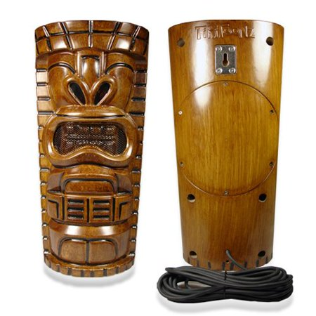 "Pair of Tiki Indoor Outdoor 6.5"" 2-Way Stereo Speakers All Weather Resistant by Tikitoonz"