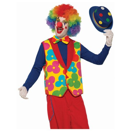 Halloween Adult Clown Vest & Tie Costume (Adult Clown Costume)