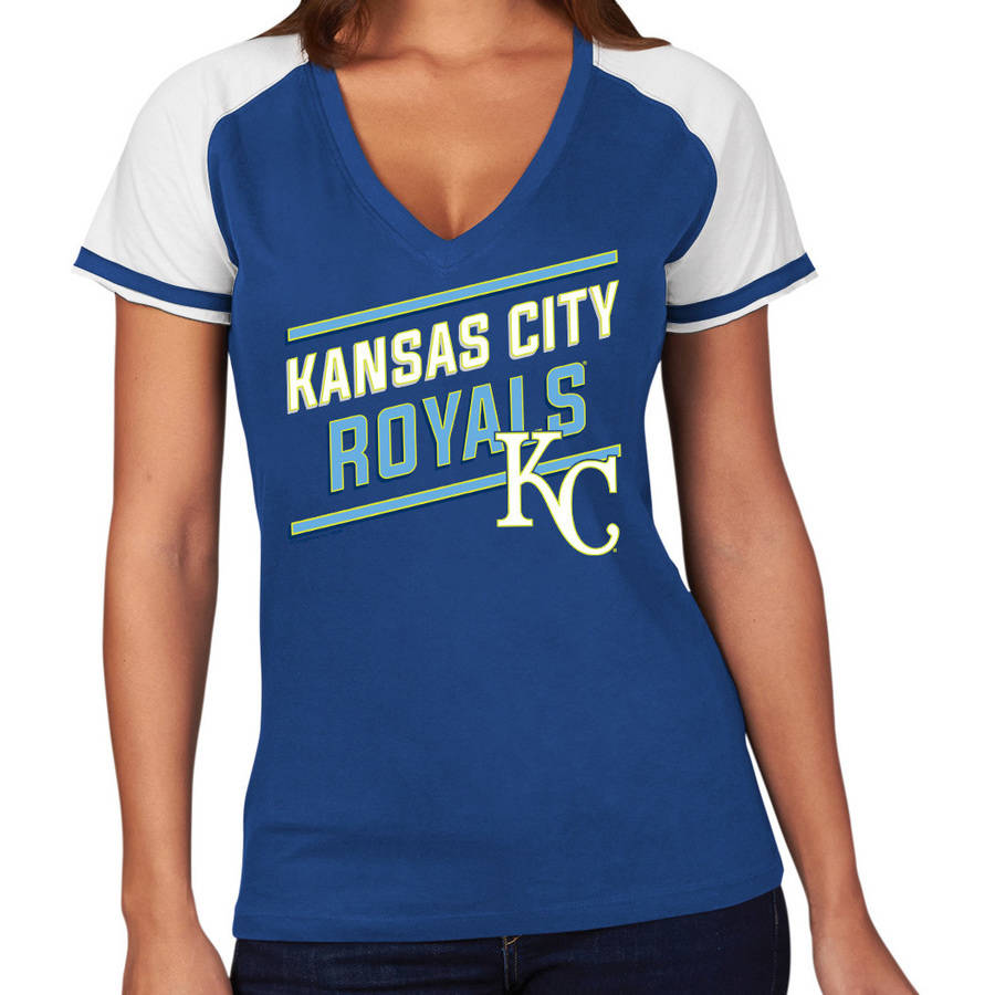 MLB Kansas City Royals Plus Size Women's Basic Tee
