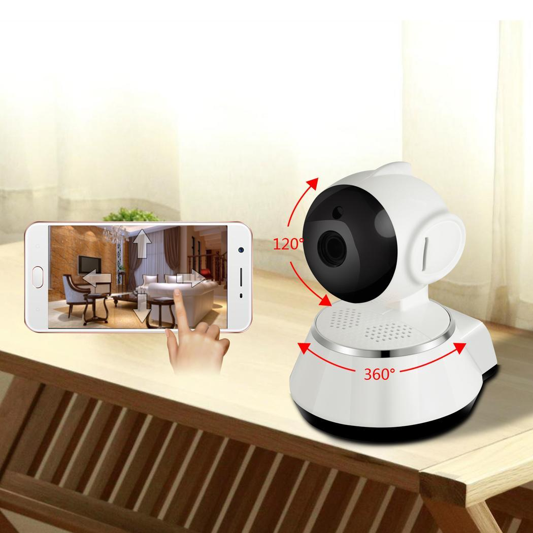 Wireless WiFi Baby Pet Monitor Nanny Cam Alarm Home Security IP Camera HD 720P Night Vision