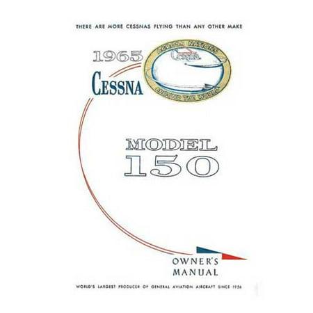 Cessna 150E 1965 Owner's Manual (part# ) - Walmart com