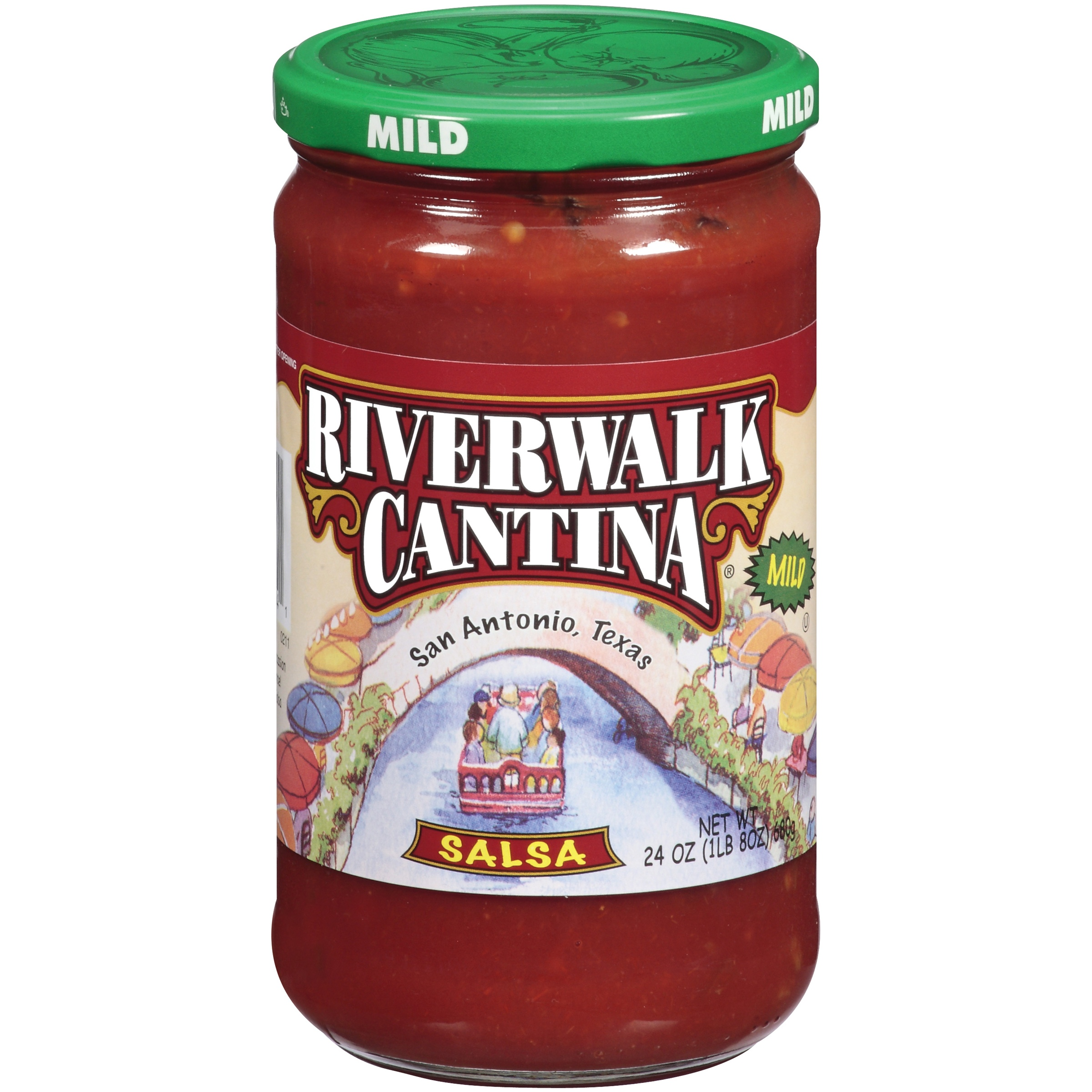 River Walk Cantina Mild Salsa 24 Oz Jar by Bay Valley Foods