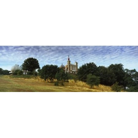 Royal Observatory Greenwich Park Greenwich London England Canvas Art - Panoramic Images (18 x 6)