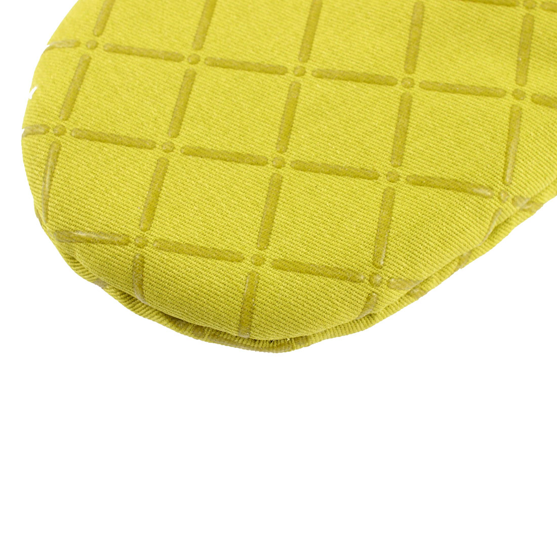Kitchen Microwave Baking Cross Pattern Heat Resistance Mitten Glove Green - image 1 of 3