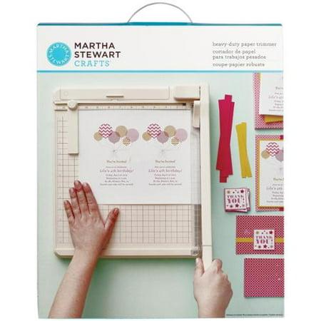 Martha Stewart Crafts Paper Trimmer Review