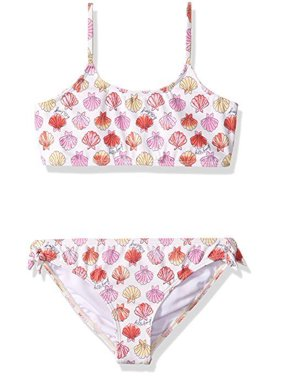 a0ef10a088424 Product Image Billabong Big Girls' Seeing Shells Tank Two Piece Swimsuit  Set, Seashell, ...