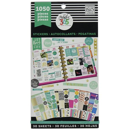 The Happy Planner Color Coordinated Sticker Pack: 30 Pack (Happy Mothers Day Stickers)