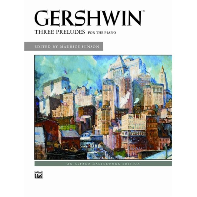 Gershwin - Three Preludes - Piano - Intermediate/Advanced