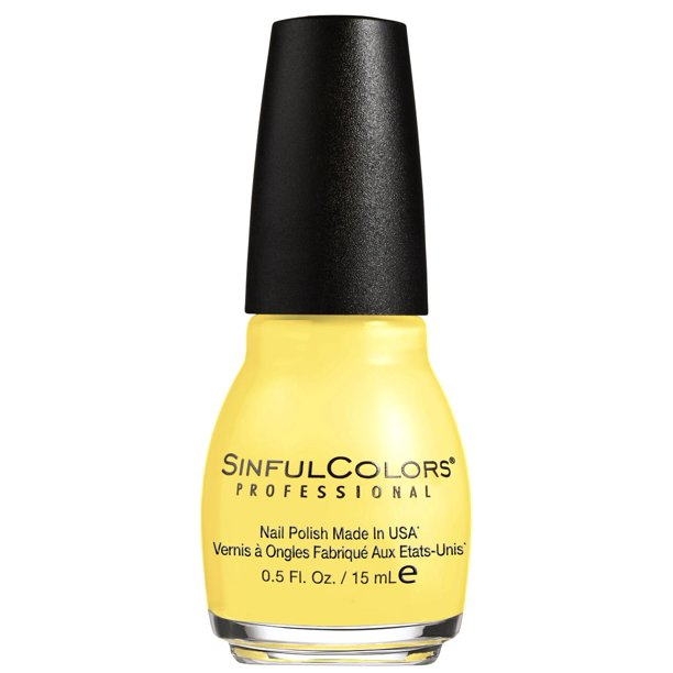 Sinful Colors Professional Nail Polish Yellows Yolo Yellow 0 5 Fl Oz Walmart Com Walmart Com