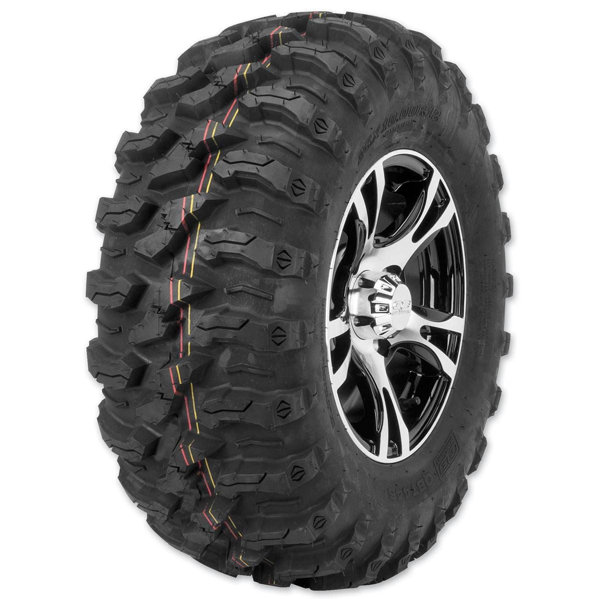 Quad Boss P3027-25X10-12 QBT446 Radial Utility Tires 25X10R12
