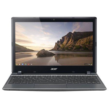 Refurbished Acer C720-2844 (NX.SHEAA.004) Chromebook Intel Celeron 2955U (1.40 GHz) 4 GB Memory 16 GB SSD 11.6