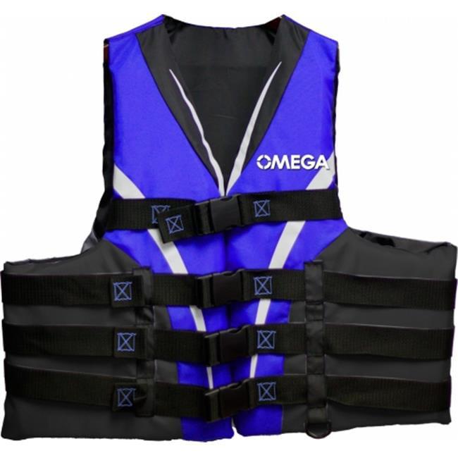 Flowt 40401-L-XL Extreme Sport Life Vest - Blue, Large & Extra Large