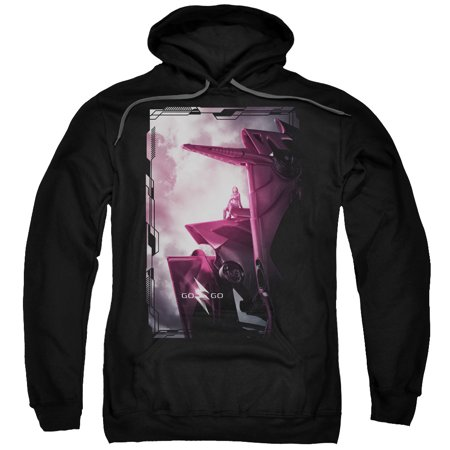 Power Rangers - Pink Zord Poster - Pull-Over Hoodie - XXX-Large