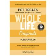 Whole Life Pet Originals 100% Chicken Freeze Dried Dog/Cat Treats 21 oz.