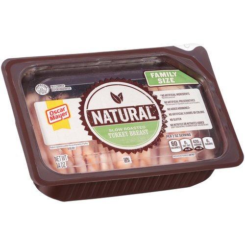 Oscar Mayer Natural Slow Roasted Turkey Breast, 14 oz