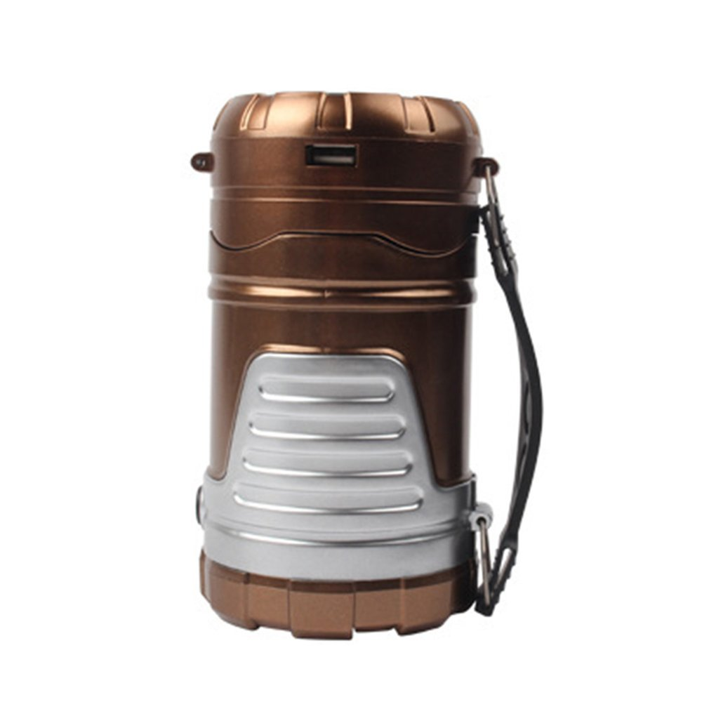 Solar Charging Lantern Outdoor Camping Lantern LED Collapsible Electric Torch