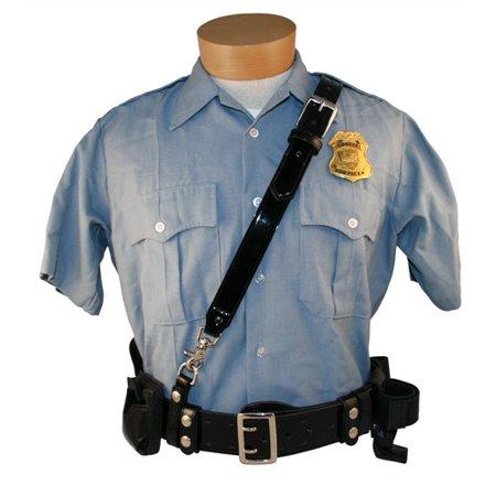 - Boston Leather 6511-3-XL-GLD Sam Browne Basket Weave Duty Belt Shoulder Strap