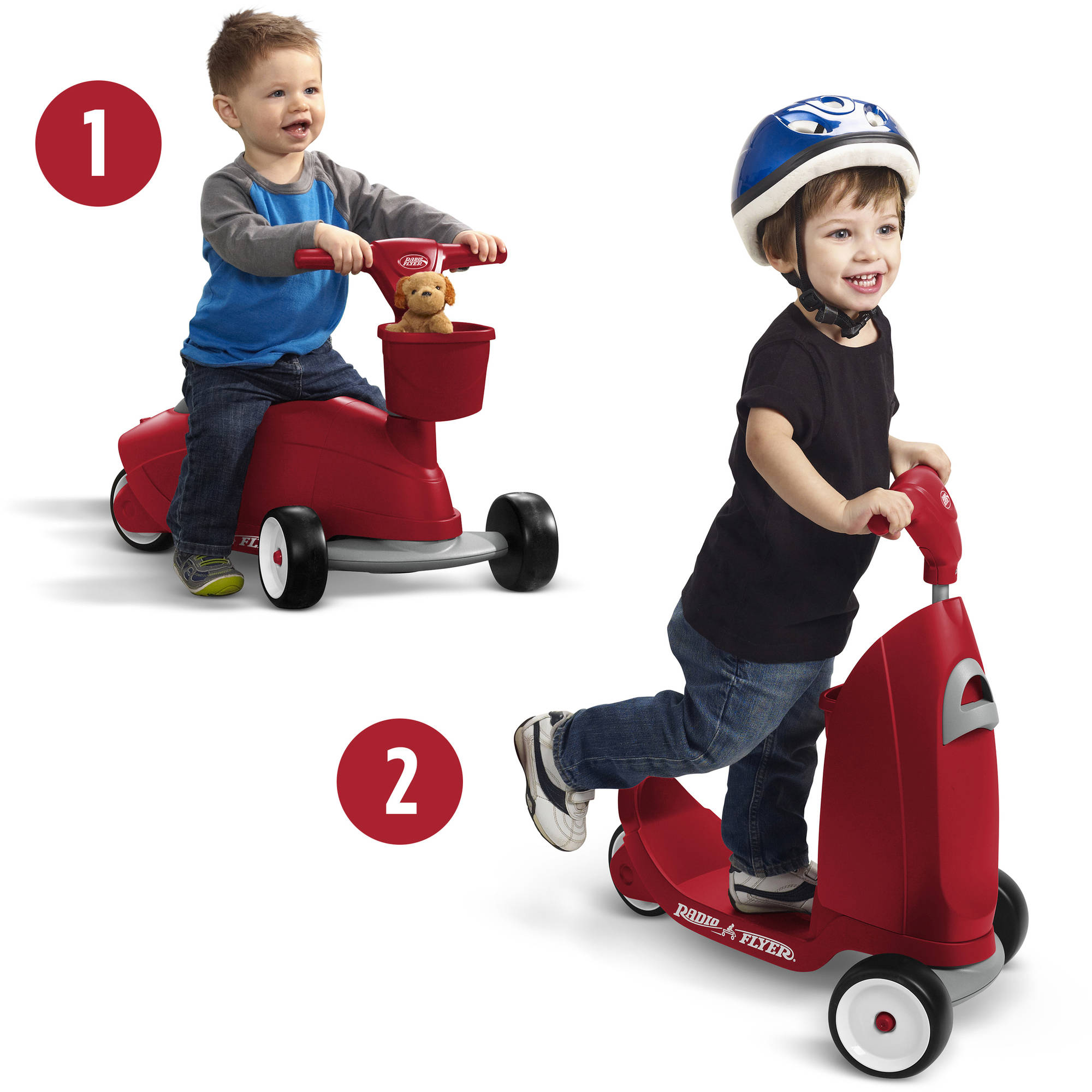 Radio Flyer Ride 2 Glide Ride-On/Scooter