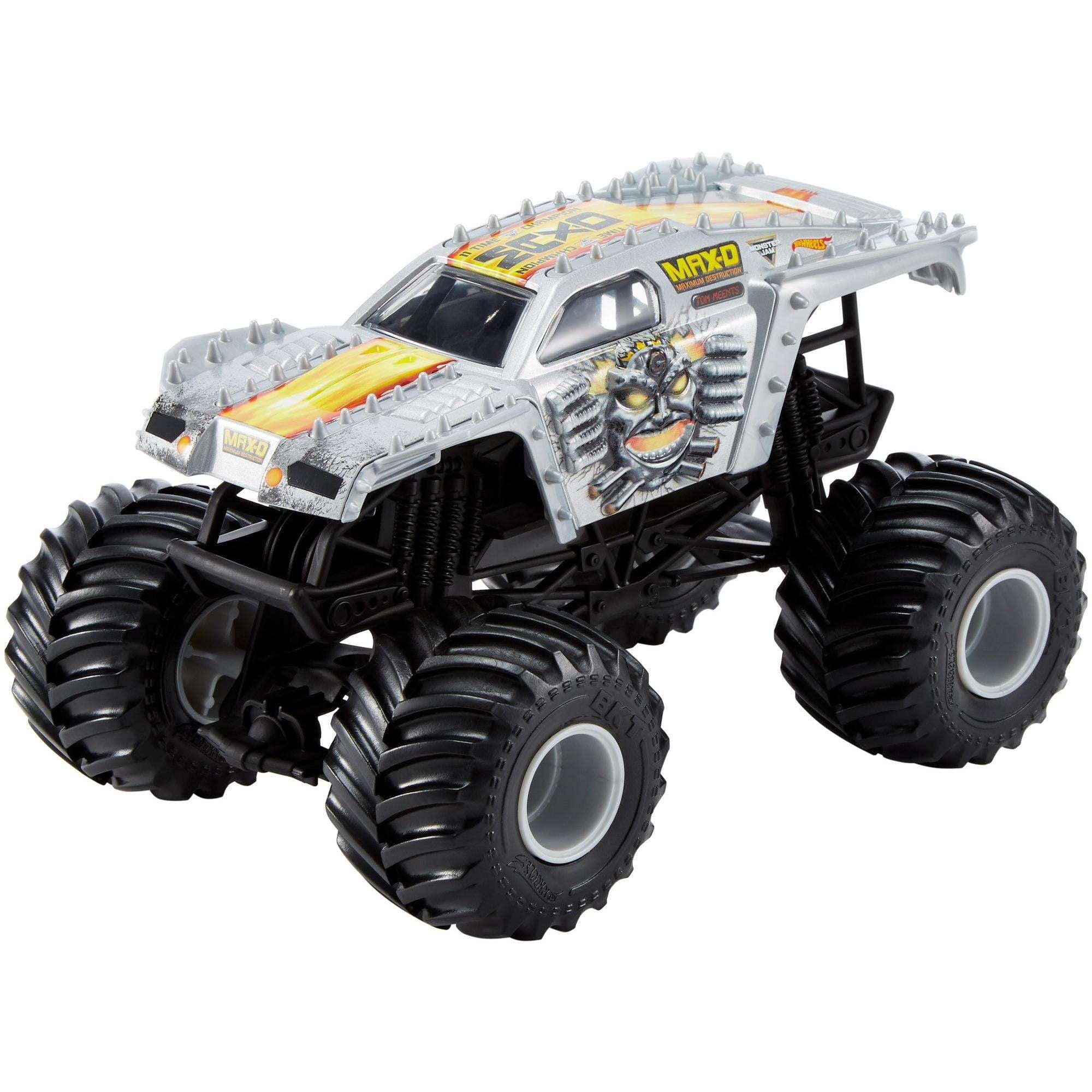 Hot Wheels Monster Jam MaxD Silver Vehicle
