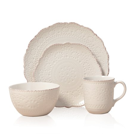 Pfaltzgraff Everyday Pfaltzgaff Everyday Chateau Cream 16-piece Dinnerware (Pfaltzgraff Bay)