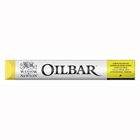 Winsor & Newton Oilbars, 50ml Stick, Lemon Yellow Hue