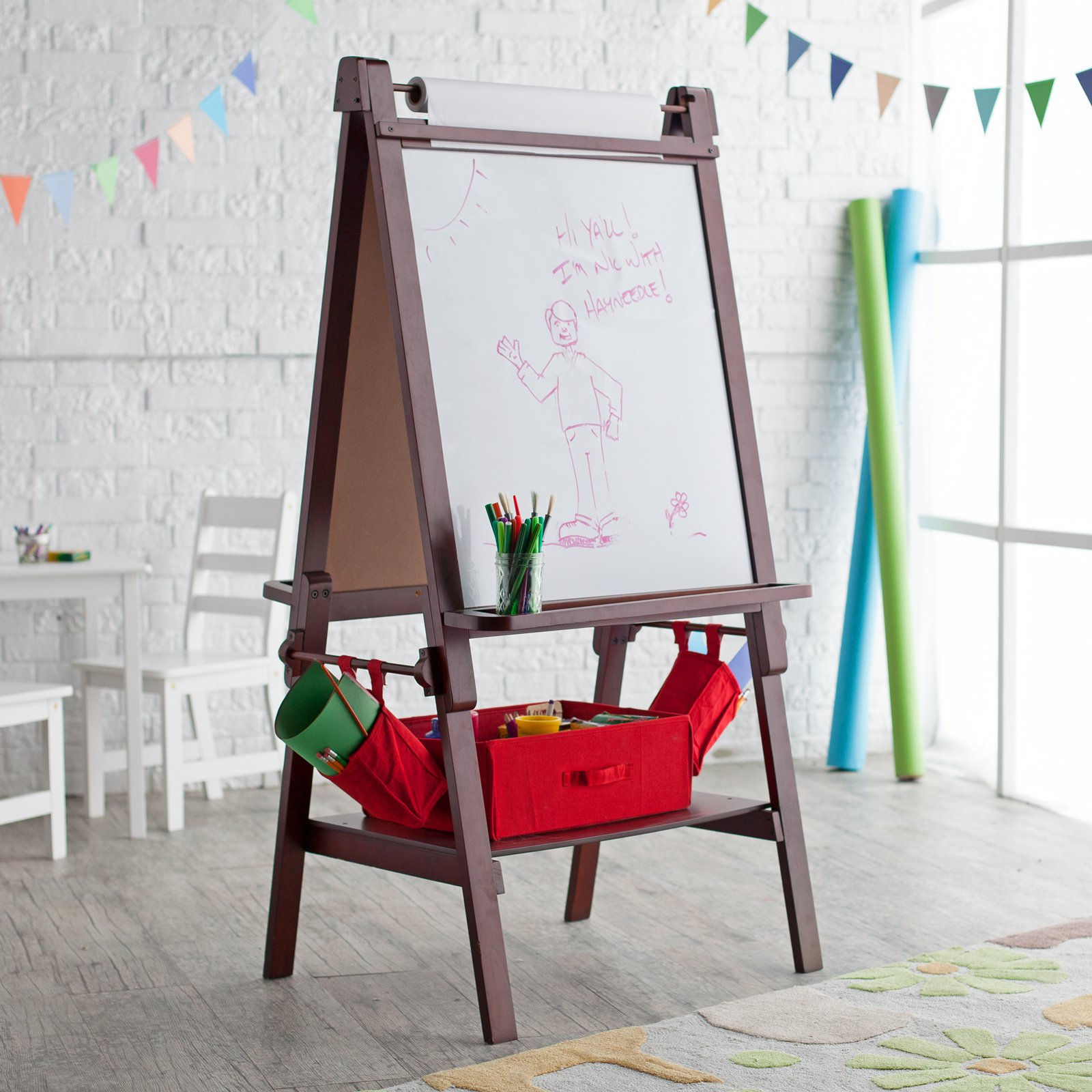 Classic Playtime Deluxe Easel - Espresso