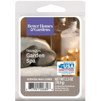 Better Homes & Gardens 2.5 oz Tranquil Garden Spa Scented Wax Melts