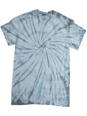 Tie Dye T-shirts Spider Multi Colors Kids Girls Boys XS- L 100% Cotton