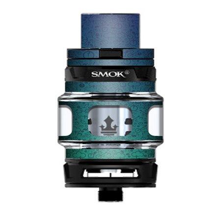 Skin Decal Vinyl Wrap for Smok TFV12 Prince Tank Vape Kit skins stickers cover/ Lightning - Lightning Bolt Stickers