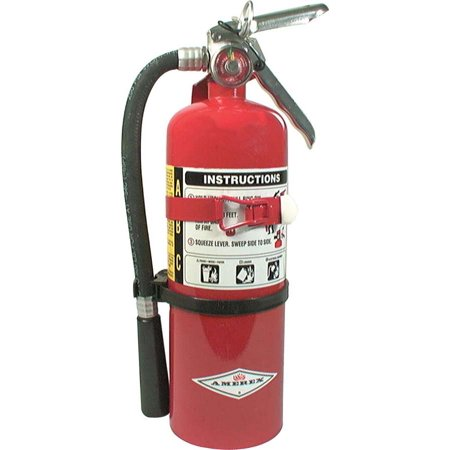 Allstar Performance 5 lbs ABC Rated Red Fire Extinguisher P/N 10502 ()