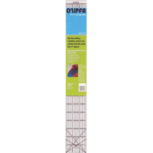 Dritz 16318 OLipfa Lip bord Ruler-18 po x 3 po - image 1 de 1