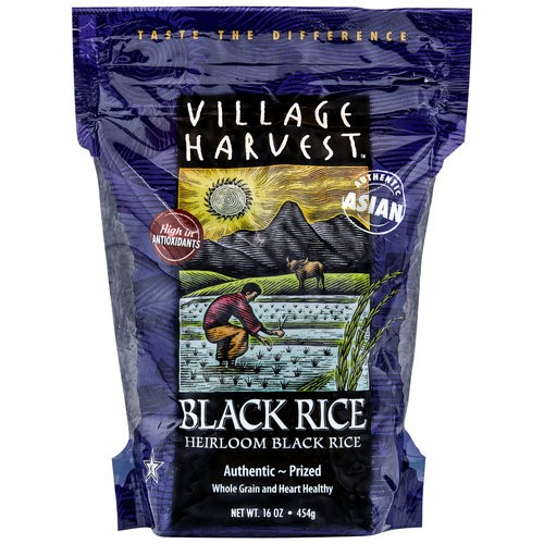 Village Harvest Heirloom Black Rice, 16 oz