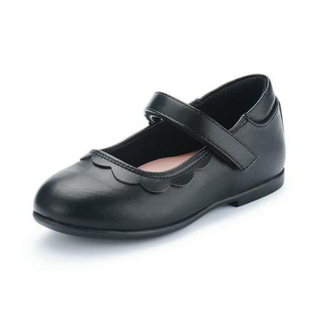 Weestep Toddler Little Kid Girl Ballet Flat Mary Jane Dress Shoes