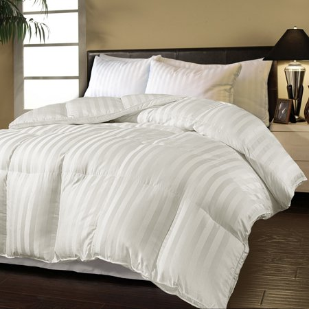 Hotel Grand Oversized Luxury 500 Thread Count Down Alternative Comforter - Twin (Oversized Ca King Down Comforter)