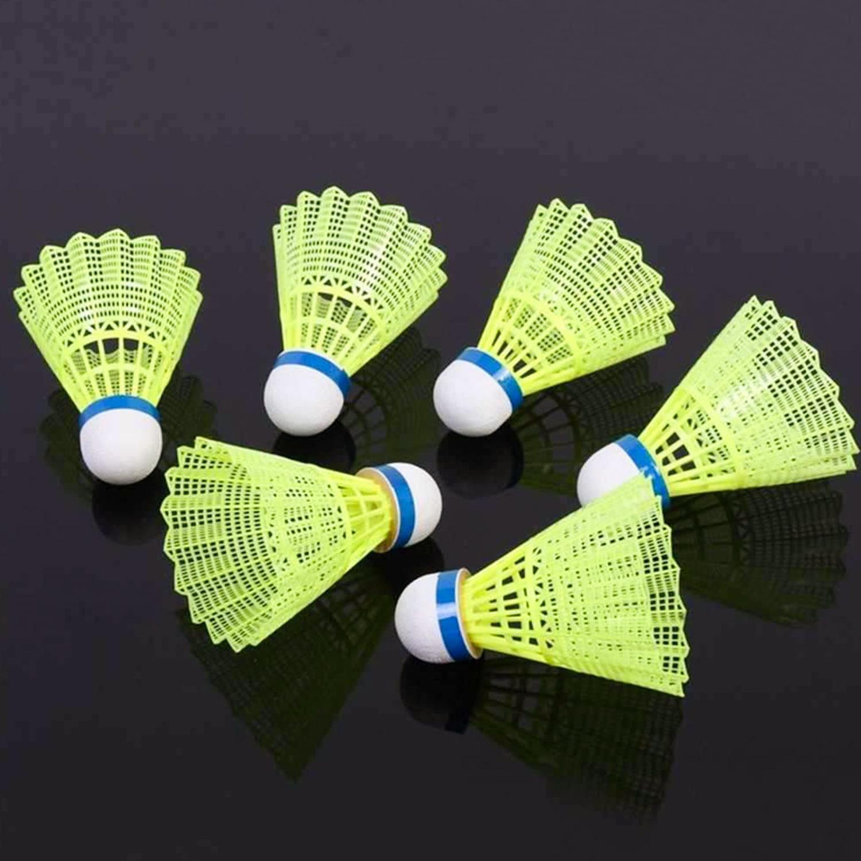BESPORTBLE 6PCS Nylon Badminton Birdies Badminton Shuttlecocks for Fitness Sports